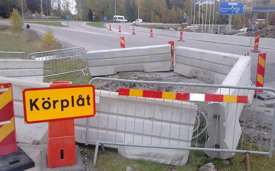 Test av barriärer som kan anpassas till förhållanden i tätorter